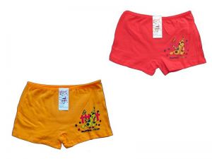 Zvětšit fotografii - Dívčí kalhotky Elevek, vel. 9-11 (130/150 cm) s nohavičkou, pejsek