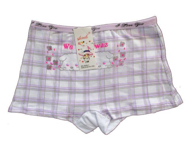 Dívčí kalhotky Elevek fialová