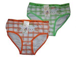 Dívčí kalhotky Elevek, vel. 9-11 (130/150 cm) káro