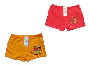 Dívčí kalhotky Elevek, vel. 9-11 (130/150 cm) s nohavičkou, pejsek