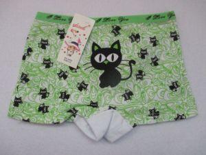 Dívčí kalhotky Elevek,vel. 3-5 (90/110 cm) s nohavičkou, kočička