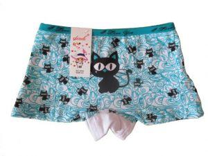 Dívčí nohavičkové kalhotky Elevek - tyrkysová