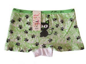 Dívčí nohavičkové kalhotky Elevek zelená