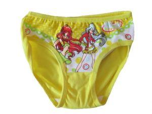 Dívčí spodní kalhotky Evona žlutá