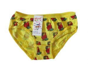 Dívčí bavlněné kalhotky Elevek žlutá