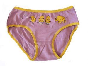 Dívčí kalhotky Elevek - fialový slon