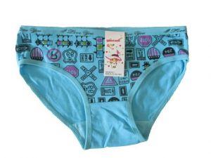 Dívčí kalhotky Elelevek modrá