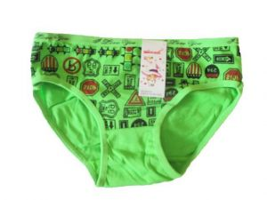 Dívčí kalhotky Elelevek zelená