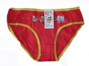 Dívčí kalhotky Elevek - červený slon