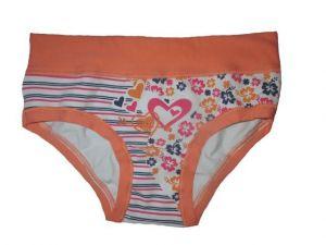 Dívčí kalhotky Emy Bimba - oranžová