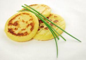Placky z bramborového pyré